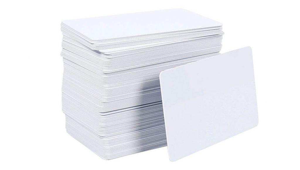 Boş baskısız plastik kart