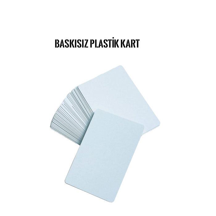 Plastik kart baskısız