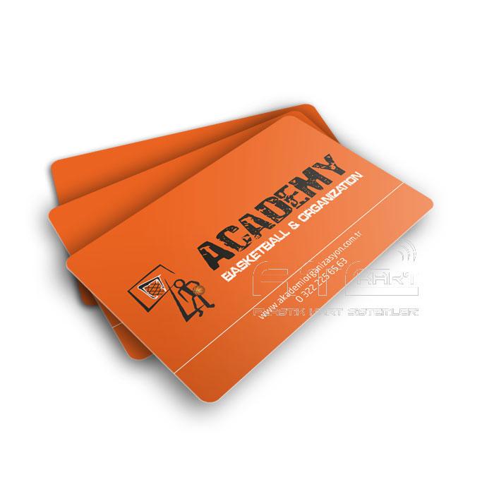 Baskılı plastik kart