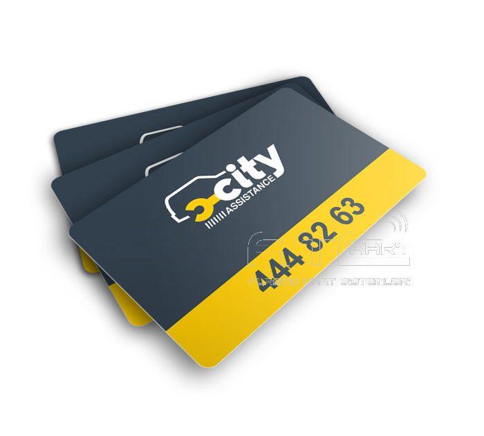 Plastik üye kartı