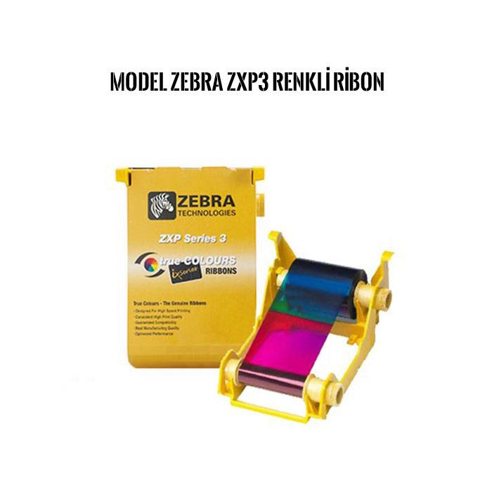 Zebra ZXP3 kart yazıcı ribonu